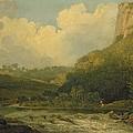 High Tor, Matlock, 1811 by John Crome
