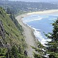 High View Of Oregon Coast by Lee Serenethos