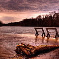 High Water On The Wolf River by Thomas Young