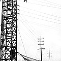 High Wire Suicide Rescue by Underwood Archives