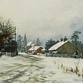 Higham Winter 86 by Vic Trevett