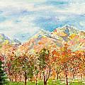 Highlands Autumn by Walt Brodis