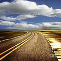 Highway Run by Scott Pellegrin