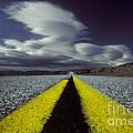 Highway Through Death Valley by Ron Sanford