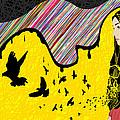 Hijab Fashion Abstraction De Dina by Kenal Louis