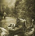 Hiking Boots by Amanda Elwell