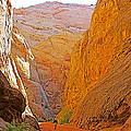 Hiking In Grand Wash In Capitol Reef National Park-utah by Ruth Hager