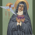 St. Hildegard Of Bingen 171 by William Hart McNichols