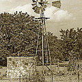 Hill Country Windmill by Jim Smith