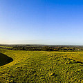 Hill Of Tara - Landscape Panorama by Mark E Tisdale