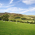Hill Range North Of Edale by Rod Johnson