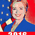 Hillary 2016 by Scarebaby Design