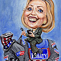 Hillary Clinton 2016 by Mark Tavares