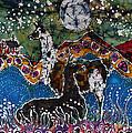 Hills Alive With Llamas by Carol Law Conklin
