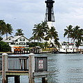 Hillsboro Inlet Light by Christiane Schulze Art And Photography