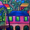 Hillside In St. John by Patti Schermerhorn