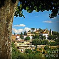 Hillside Tuscan Village  by John Malone