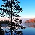 Hilltop View Of Stoneledge Lake by Terri Gostola