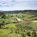 Hilly Landscape Of The Southern Ugandan by Martin Zwick
