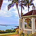 Hilton Waikoloa Gazebo by Bob Kinnison