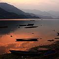 Phewa Lake, Pokhara, Nepal by Aidan Moran