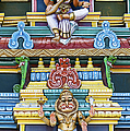 Hindu Temple Deity Statues by Tim Gainey