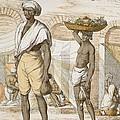 Hindu Valet Or Buyer Of Food, From The by Franz Balthazar Solvyns