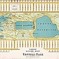 Hinrichs Guide To Central Park 1875 by MotionAge Designs