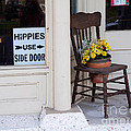 Hippies Use Side Door by Louise Heusinkveld