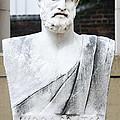 Hippocrates Statue - Vcu Campus by Brendan Reals