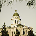 Historic Auburn Courthouse 2 by Sherri Meyer