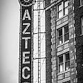 Historic Aztec Theater by Melinda Ledsome