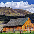 Historic Barn - Wasatch Front by Gary Whitton
