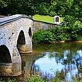 Historic Burnside Bridge by Patti Whitten