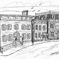 Historic Catskill Street by Richard Wambach