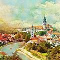 Historic Centre Of Cesky Krumlov by Catf