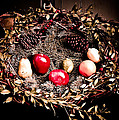 Historic Christmas Wreath by Sarah  Cafaro