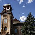 Historic Church In Randolph Utah by Richard Lynch