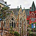 Historic Church St Louis Mo 2 by Debbie Portwood
