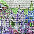 Historic Churches St Louis Mo - Digital Effect 4 by Debbie Portwood