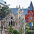 Historic Churches St. Louis Mo 1 by Debbie Portwood
