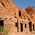 Historic Civilian Conservation Corps Stone Cabins In The Valley Of Fire by Gary Whitton