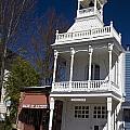 Historic Firehouse No. 1 Nevada City California by Jason O Watson