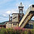 Historic Gold Dredge In Chicken-ak  by Ruth Hager