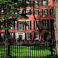 Historic Homes Of Beacon Hill, Boston by Panoramic Images