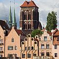 Historic Houses In Gdansk by Artur Bogacki