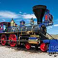 Historic Jupiter Steam Locomotive - Promontory Point by Gary Whitton