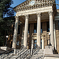 Historic Limestone County Courthouse In Athens Alabama by Kathy Clark