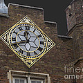 Historic London Clock by Ann Horn