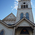 Historic Methodist Church Looking Up by Mick Anderson